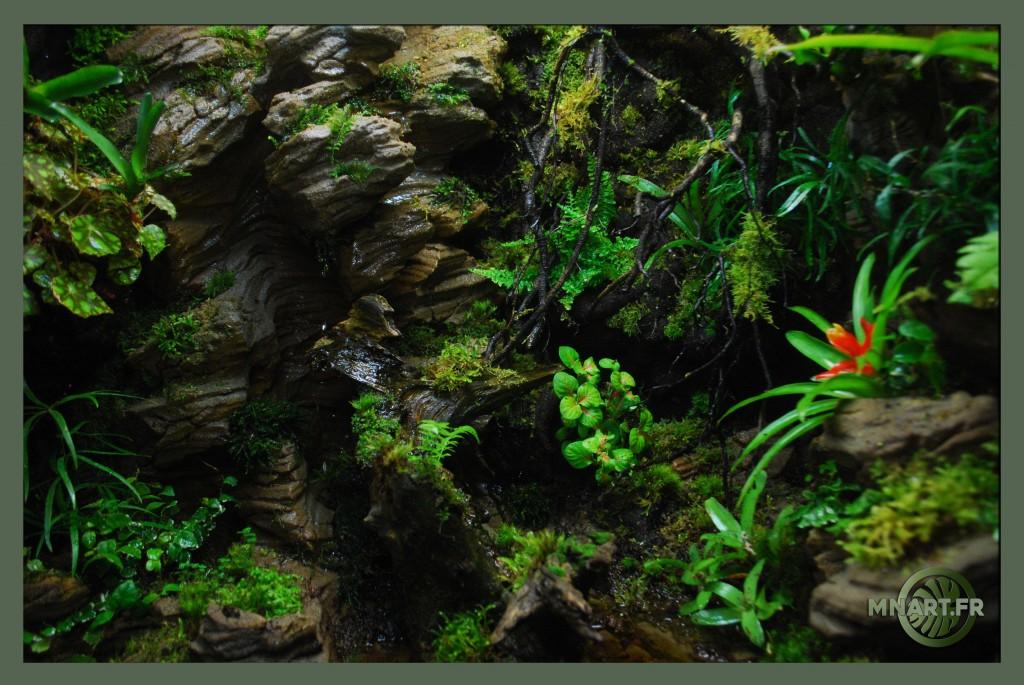 Fabricant de d cor d sertique tropical terrarium fausse roche aquaterrarium mur v g tal - Decor fond terrarium desertique ...